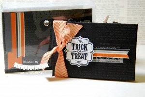 Altered Stamp Case - Halloween