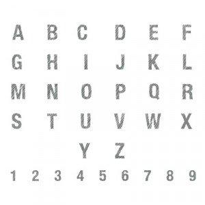 135234 ABC 123 Sketch Alphabet