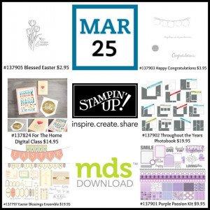 March 25 Digital Downloads