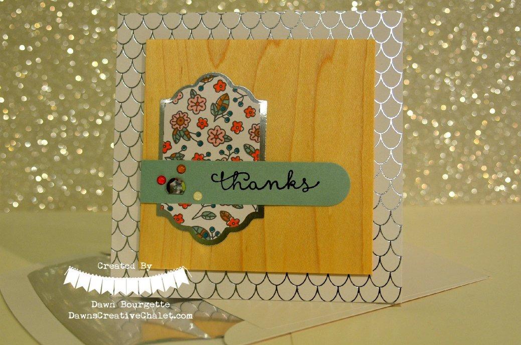 Cottage Greetings Card Kit Card 3 Stampin Up