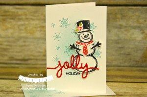 jolly snowman 1