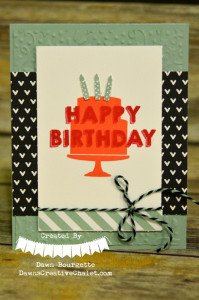 mint macaron happy birthday 1