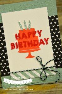 mint macaron happy birthday 3